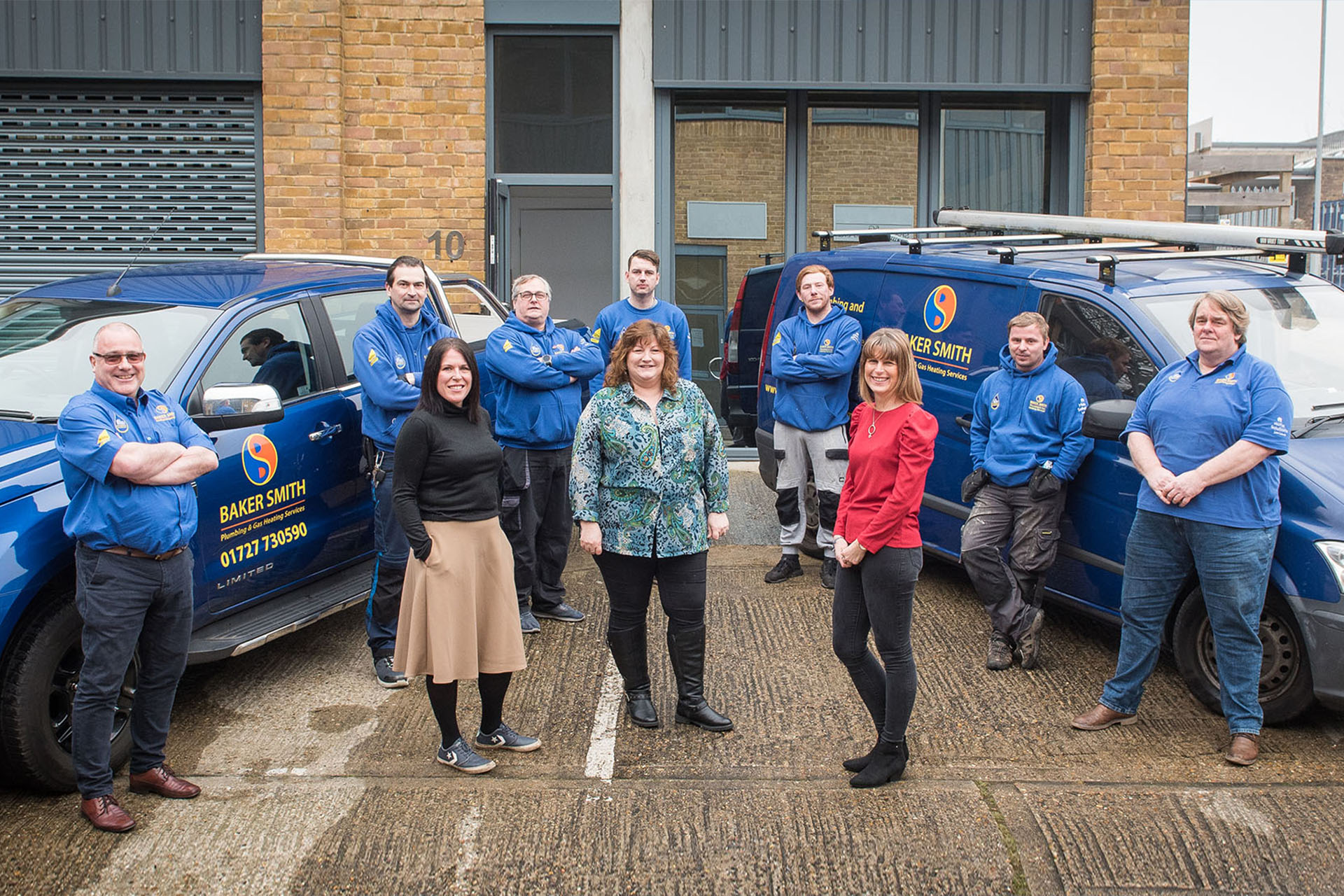 baker smith plumbers and heating engineers in st albans