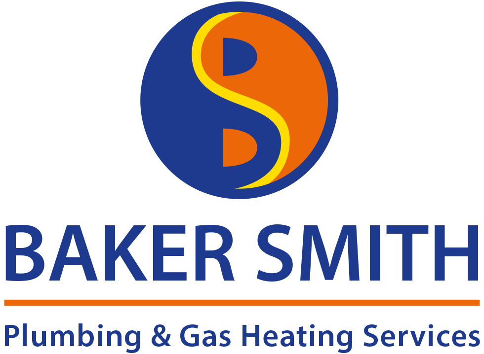 Baker Smith plumbing and gas heating services blue logo