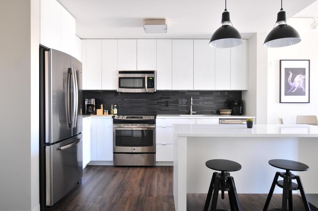 modern kitchen appliance installations